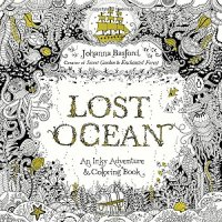 Lost Ocean: An Inky Adventure and Coloring Book - by Johanna Basford