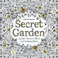 Secret Garden: An Inky Treasure Hunt and Coloring Book - by Johanna Basford
